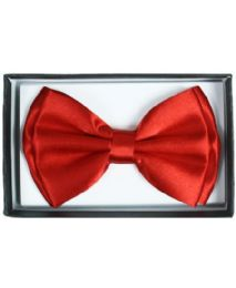 72 Units of BOWTIE AB 012 (RED COLOR) - Neckties