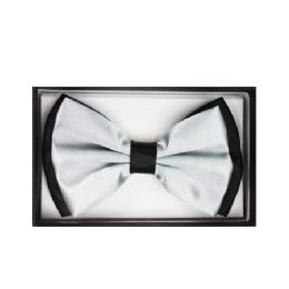 48 Units of Black and White Bow Tie 033 - Neckties