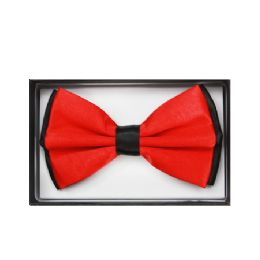 48 Units of Black and Red Bow Tie 030 - Neckties