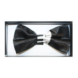 48 Units of Black and White Bow Tie 155 - Neckties
