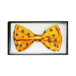 48 Units of Black & Yellow Bow Tie - Neckties
