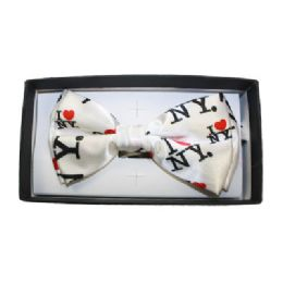 48 Units of I Heart NY Bow Tie - Neckties