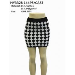 72 Units of Ladies Fashion Mini Skirt - Womens Skirts