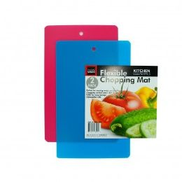 48 Units of 2 Pack Flexible Chopping Mat - Cutting Boards