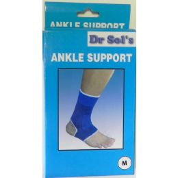 48 Units of Wholesale Dr Sol's Ankle Support Aids in Rehab of Ankle Injuries - Bandages and Support Wraps