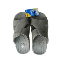 48 Units of Men's Shower Slipper Assorted Colors - Men's Slippers