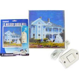 72 Units of Door Bell Melody Square With Picture - Doors