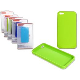 "144 Units of IPHONE 5 TPU COVER 2.4"" X5"" WHITE,GRAY ,BLUE, SKY BLUE CL - Cell Phone & Tablet Cases"