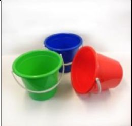 48 Units of Plastic Pail With Handle 2.5 Gallon - Buckets & Basins