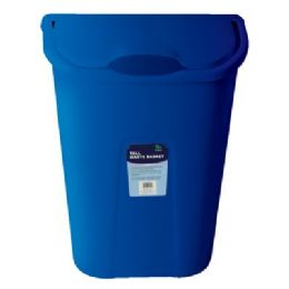 12 Units of Dual Swing Wastebasket 15.25 X11.5 X20.5 - Waste Basket