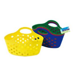 "48 Units of Oval Tote 12.5""x6.5""x7.5"" - Baskets"