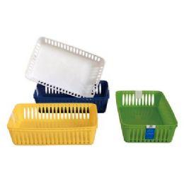 "48 Units of 2 Pack Multi Purpose Baskets 10""X6.2""x2.5"" - Baskets"