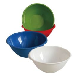 """48 Units of 5 Quart. Large Round Bowl 11.5""""diameter .x5"""" height - Plastic Bowls and Plates"""