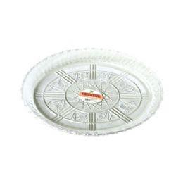 "48 Units of Oval Platter 13.25""x9.5""x1.5"" - Plastic Tableware"