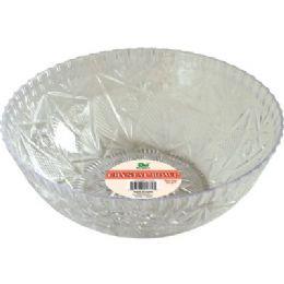 "48 Units of Crystal Bowl 150 oz 11""diameter. - Plastic Serving Ware"
