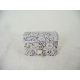 48 Units of TIN JEWELRY BOX US RECT W/LOC - Jewelry Box