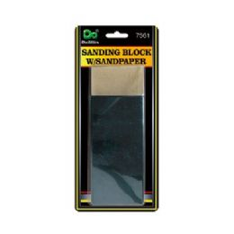 96 Units of Sanding Block With Sandpaper - Hardware Miscellaneous
