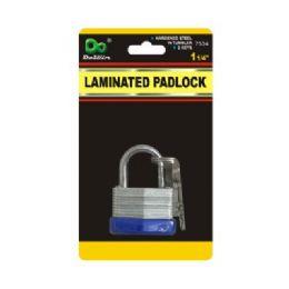 48 Units of Laminated Padlock - Padlocks and Combination Locks