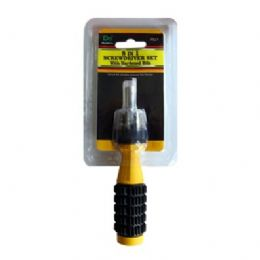 48 Units of 8-IN-1 Screwdriver With Hardened Bits - Screwdrivers and Sets
