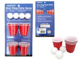 72 Units of Beer Pong Set - Dominoes & Chess