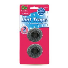 48 Units of 2 Pack Lint Traps - Laundry  Supplies