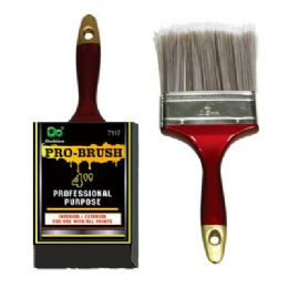 72 Units of Pro-Brush 4 Inches - Paint and Supplies