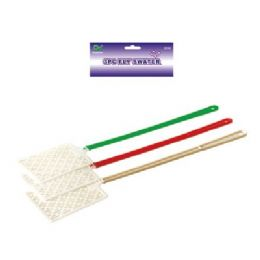 48 Units of 3 Piece Fly Swatters - Pest Control