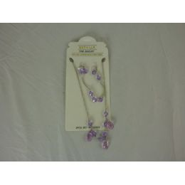 576 Units of Jewel Set 1 Necklace,2earrings - Necklace Sets