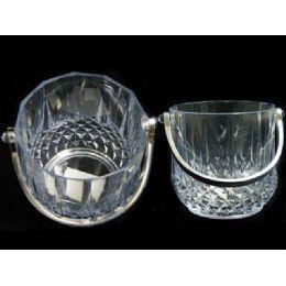 48 Units of ICE BUCKET W/HANDLE - Plastic Drinkware