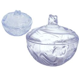 48 Units of CANDY JAR TULIP CRYSTAL LIKE - Plastic Serving Ware