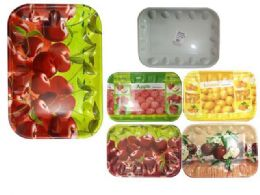 48 Units of TRAY PLS RECT. 48 X 34CM - Plastic Serving Ware