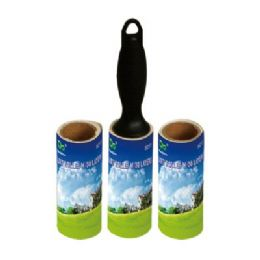 96 Units of Lint Roller 30 Layers With 2 Free Refills - Laundry  Supplies
