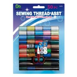 48 Units of 50 PC Sewing Kit - Sewing Supplies