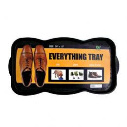 "24 Units of Shoe/boot Tray 26.75""x15"" - Serving Trays"