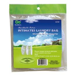 """48 Units of Intimates Laundry Bag 5.5""""x6.5""""x6.5"""" - Laundry  Supplies"""