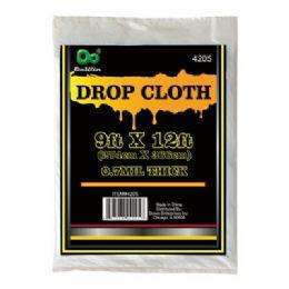 96 Units of Drop Cloth 9FTx12FT - Table Cloth
