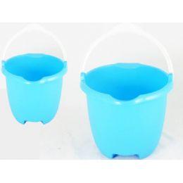48 Units of JUMBO BUCKET W/PLASTIC HANDLE - Buckets & Basins