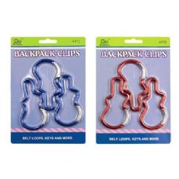 60 Units of Backpack Clips - Travel & Luggage Items