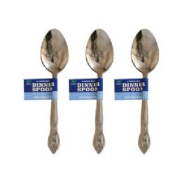 48 Units of 4 Piece Dinner Spoons - Kitchen Cutlery