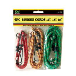 48 Units of 6PC Bungee Cords - Bungee Cords