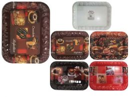 48 Units of rectangle tray - Plastic Serving Ware