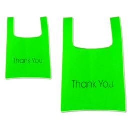 """288 Units of SH0PPING BAG 45X55CM GREEN CLR17.7""""X21.7"""" - Bags Of All Types"""