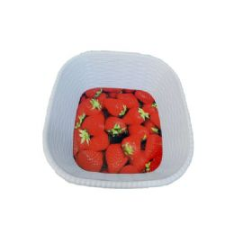 36 Units of deep square fruit tray - Plastic Serving Ware
