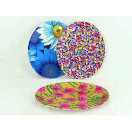 100 Units of oval design plate - PLASTIC ITEMS