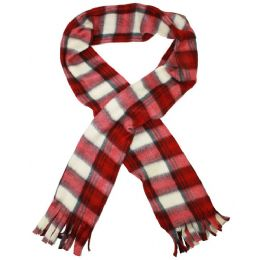 100 Units of ACRYLIC SCARVES - Womens Fashion Scarves