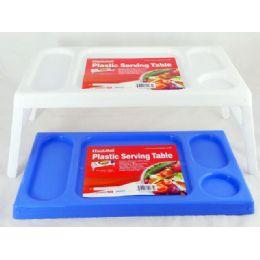 36 Units of 2 plastic serving trays - Plastic Serving Ware