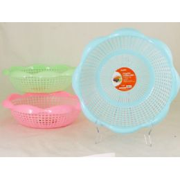48 Units of 3 Asst Plastic Colanders - Strainers & Funnels