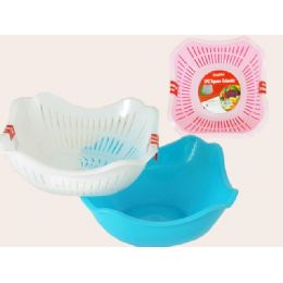 96 Units of 2 Asst Colanders - Strainers & Funnels