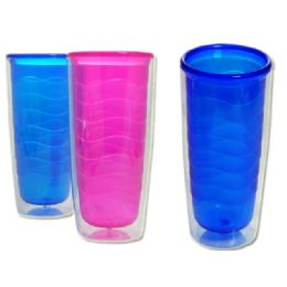 96 Units of double walled cup - Plastic Drinkware