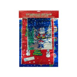 72 Units of Wholesale 3 count metallic gift xmas bags